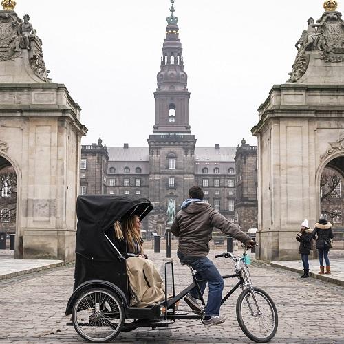 Guidet tur med cykeltaxa - Spar 100 kr.