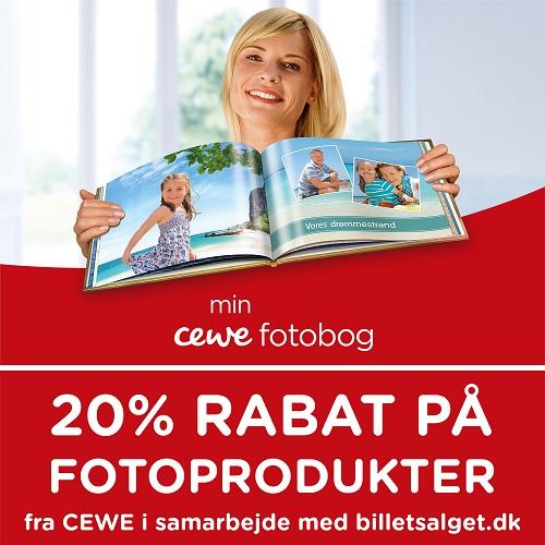 Fotoprodukter fra CEWE - Spar 20%