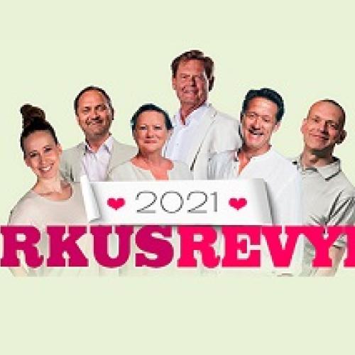 Cirkusrevyen 2021 - Inkl. frokostmenu på Postgaarden - Spar 10%